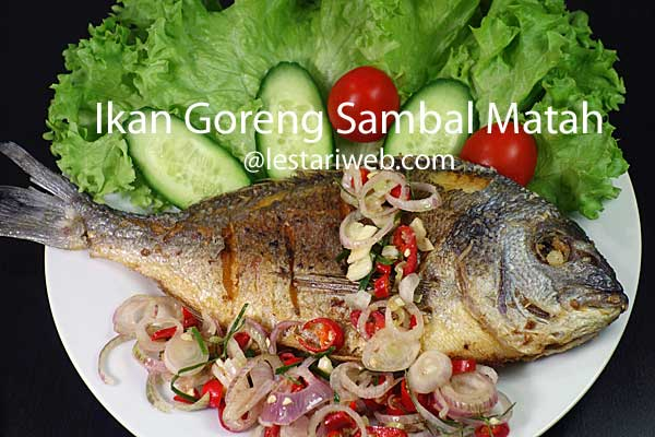 Fried Fish with Balinese Chilli Relish