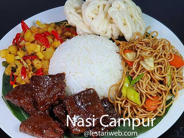 Javanese Mixed Rice