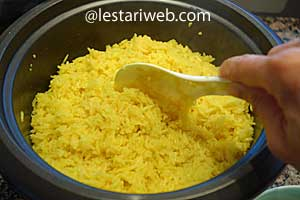 rice and lime juice