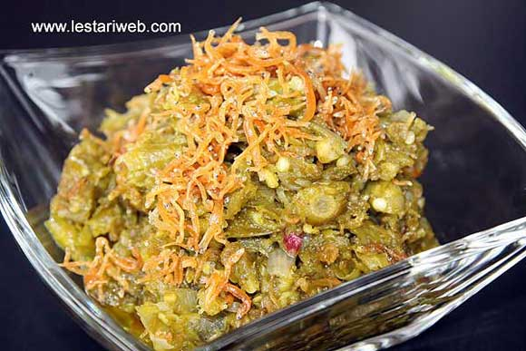 Green Chilli Sambal with Baby Anchovies
