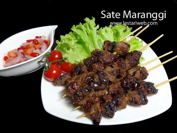 Beef Satay Maranggi