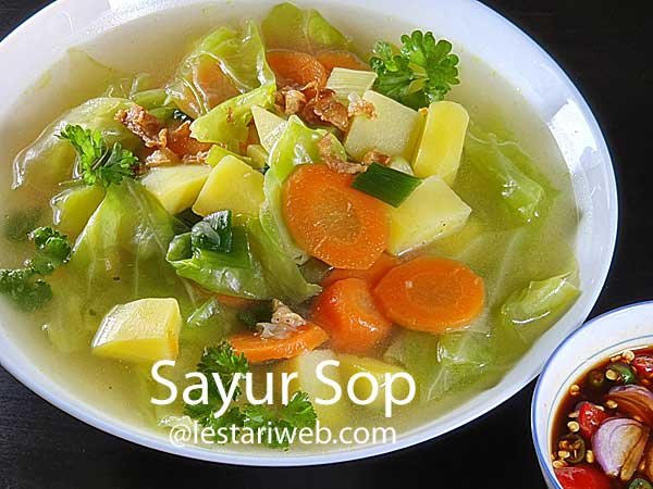 Indonesian Vegetables Soup