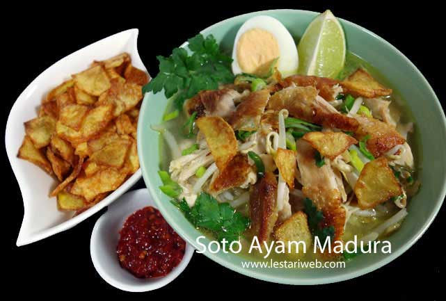 Madurese Chicken Soup
