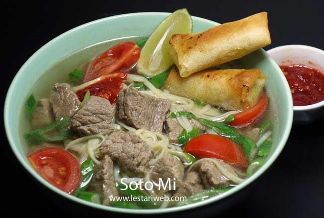 Beef Soup Jakarta Style