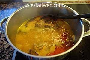 boil the soup
