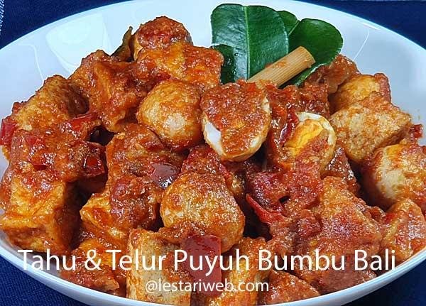 Balinese Tofu & Quail Eggs