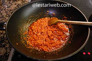spice paste is ready