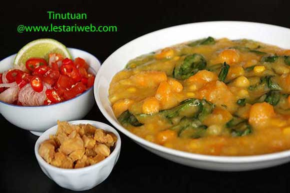 manadonese porridge, vegetarian recipes