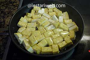 tofu is brown