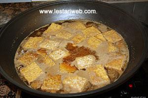 boiling tempeh