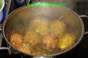 boil potatos