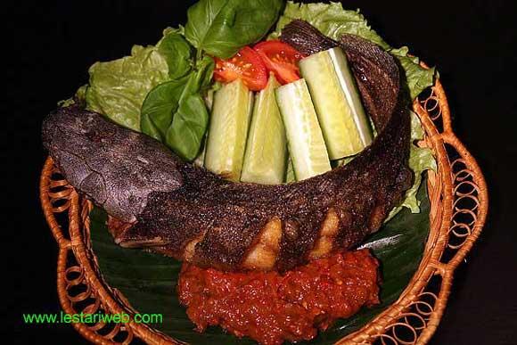 Fried Catfish with Chilli Sambal