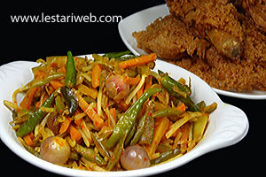 serve with fried chicken