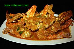 serve the crab hot