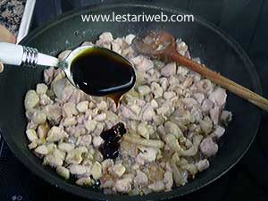 add oyster sauce
