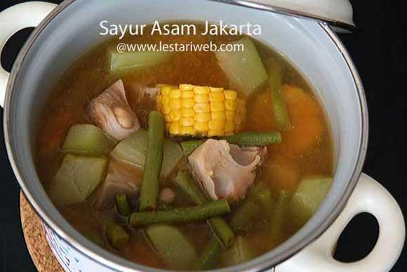 Tamarind Soup a la Jakarta