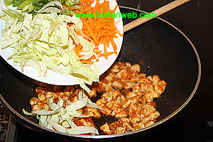 add vegetables