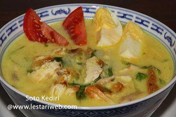 Spiced Chicken Soup Kediri