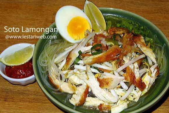 Chicken Soup Lamongan Style