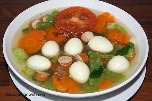 Quail Egg Soup