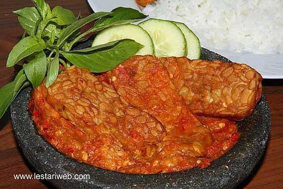 Tempeh with Chilli Sambal