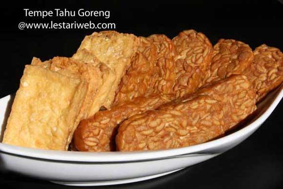 Fried Tempeh & Tofu