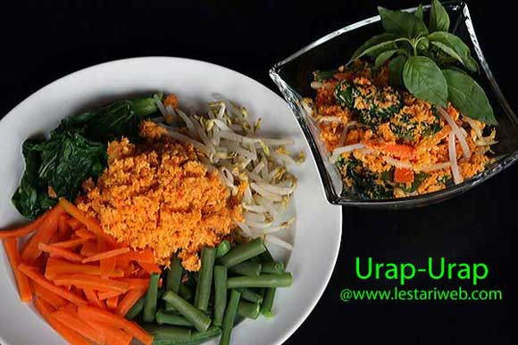 Vegetables Salad with Coconut Dressing