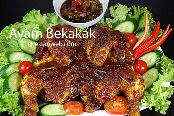 Sundanese roasted chicken