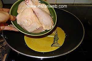 chicken pieces
