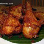 Crispy Yellow Fried Chicken