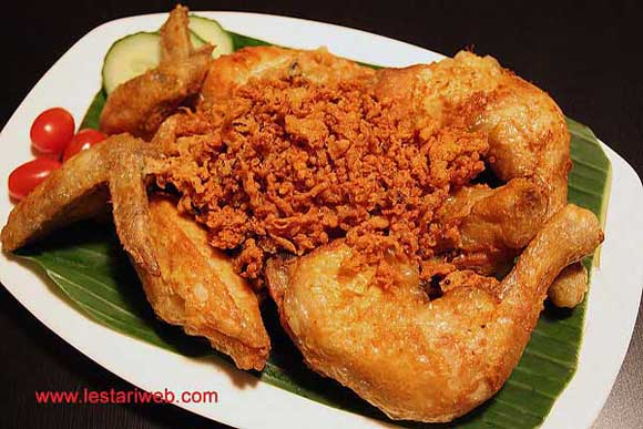 Fried Chicken with Crunchy Crumbs