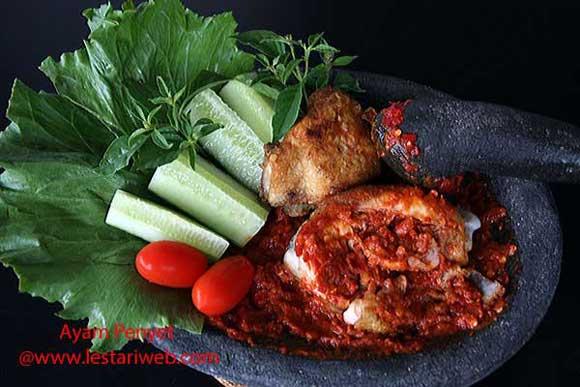 Fried Chicken with Chilli Sambal