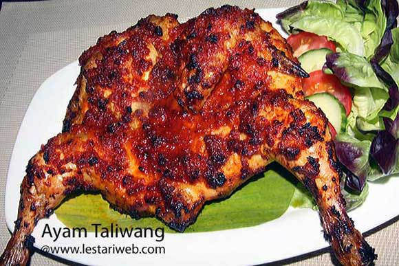 Spicy Grilled Chicken a la Lombok