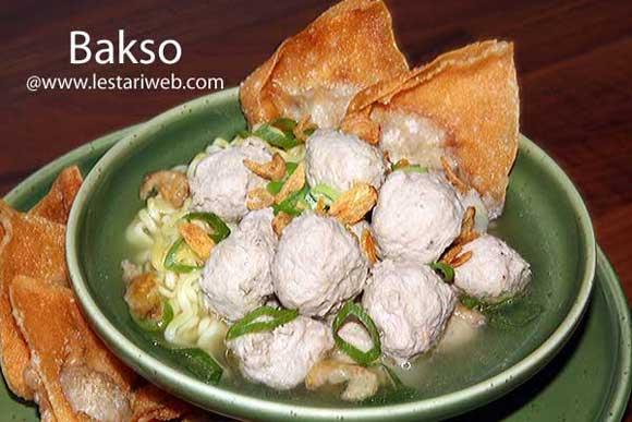 Bakso Meatball Soup