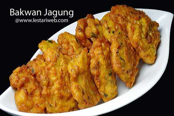 Indonesian corn fritters