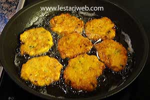 golden brown fritters
