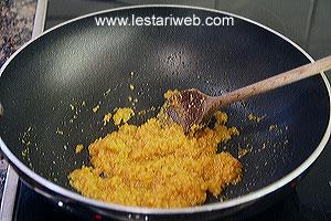 frying ingredients