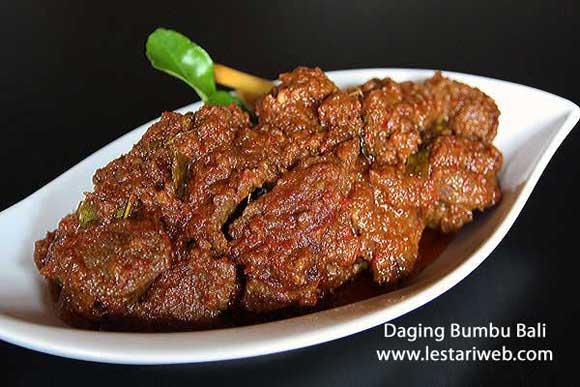 Balinese Spicy Beef