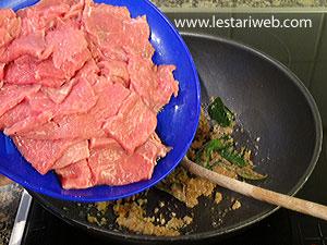 add beef