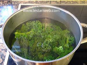 cook curly kale