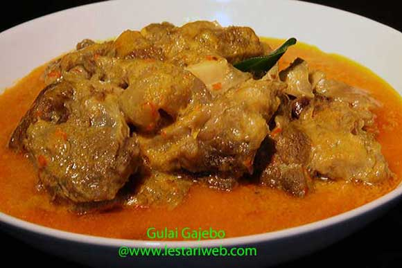 Spicy Beef West-Sumatra Style