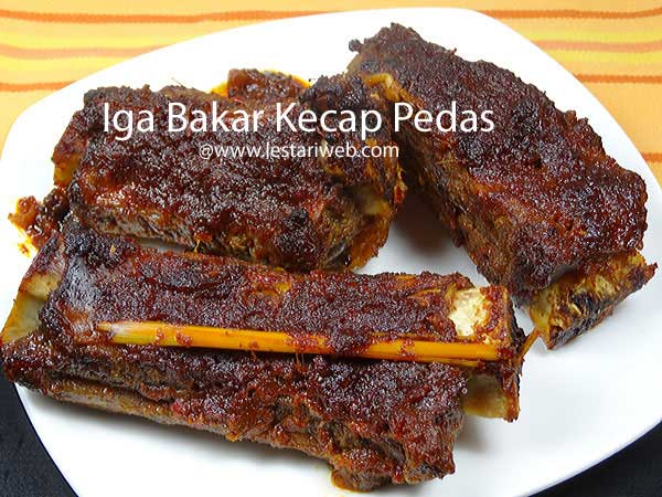 Ribs with Sweet Soy Sauce
