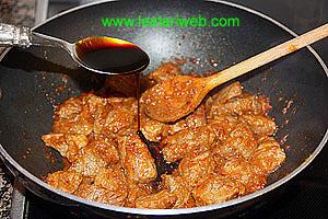 add sweet soy sauce