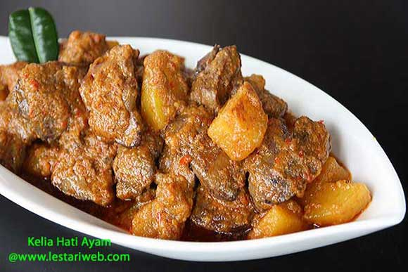 Chicken Livers in Spicy Coconut Sauce