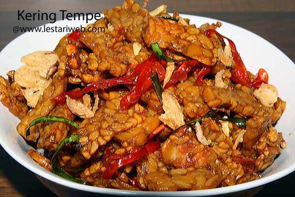 Spicy Fried Tempeh